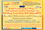 EU Day Information Fair on Further Education and Training